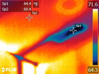 Water Leakage Thermal Imaging